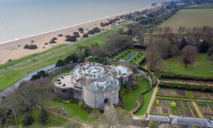 Beautiful Walmer castle – the home of the Lords Warden of the Cinque Ports