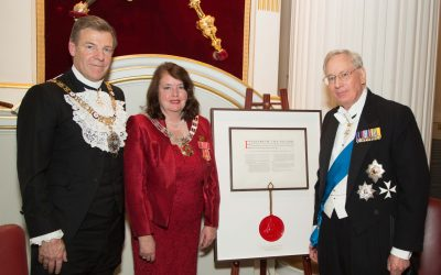 Royal Charter Banquet at Mansion House