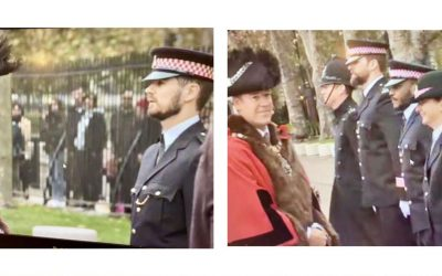 Master's Blog: City of London Police Passing Out Parade